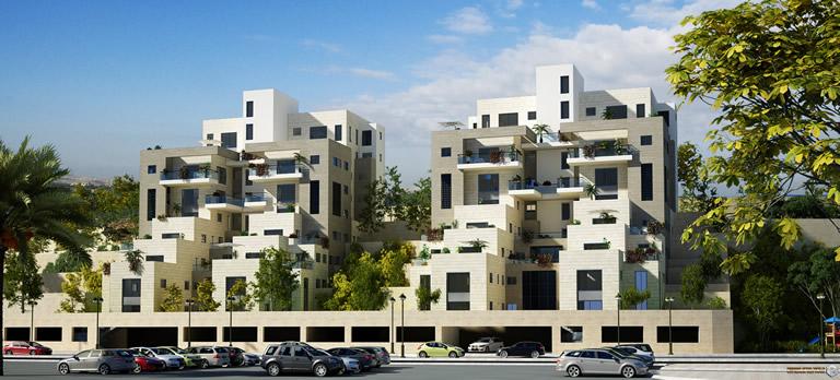 סופר מתחם מגורים - שכונת המשקפיים - 36 - שחר אדריכלים XT-07